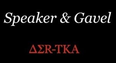 Speaker & Gavel