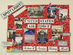 Porter Henderson Library Display: Aviation History Month by Angelo State University