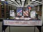 FOIA Anniversary Display by St. Mary's University, Texas