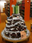 Holiday Book Tree by South Dakota State University