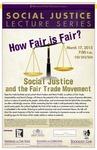 How Fair is Fair? Social Justice and the Fair Trade Movement