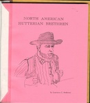 A Geographic Appraisal of the North American Hutterian Brethren by Lawrence C. Anderson
