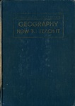 Geography, How to Teach It