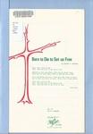 Born to Die to Set Us Free: A Lenten Meditation