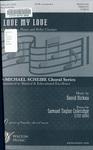 I Love My Love: SATB Chorus, B♭ Clarinet & Piano