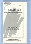 Magnificat: For Chorus, Organ, Percussion, and Strings