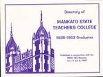 Directory of Mankato State Teachers College 1938-1953 Graduates