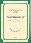 Concerto Grosso for Two Oboes, Strings and Harpsichord