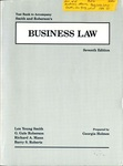 Test Bank to Accompany Smith and Roberson's Business Law, Seventh Edition
