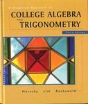 A Graphical Approach to Algebra & Trigonometry